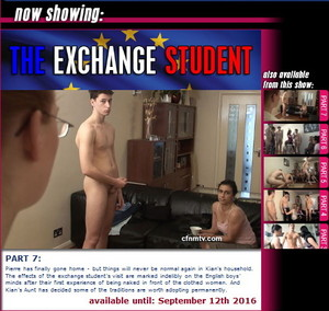 cfnmtv: The Exchange Student (Part 1-7)