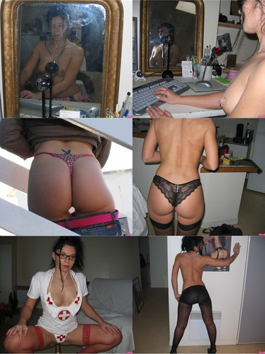 Hot Brunette Milf Shows Her Tight Ass