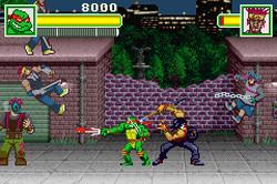 Teenage Mutant Ninja Turtles 2: Battle Nexus [GBA] [Multi-Español] [MG]